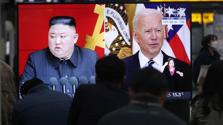 Για «κρίση εκτός ελέγχου» προειδοποιεί ο Κιμ Γιονγκ Ουν τον Μπάιντεν - Απειλές και κατά της Ν.Κορέας