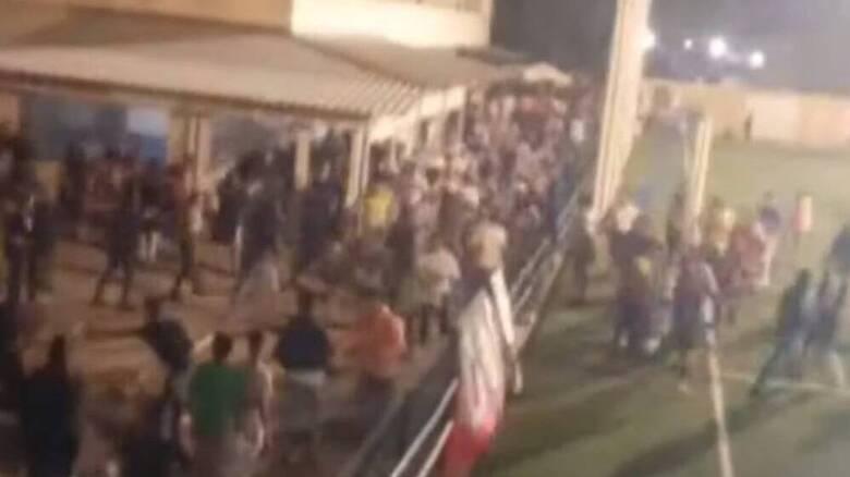 Ισπανία: Bίαια επεισόδια σε αγώνα στη Σεβίλλη - 15 τραυματίες