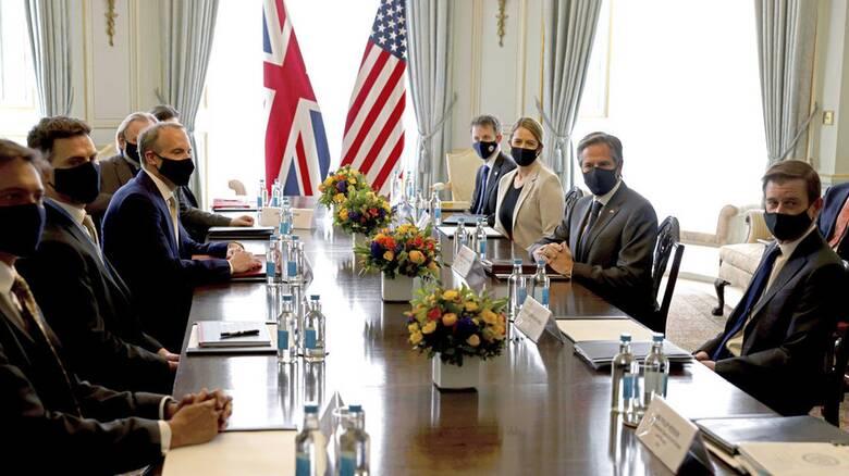 G7: Κίνα, Ρωσία στην ατζέντα των ΥΠΕΞ στο Λονδίνο