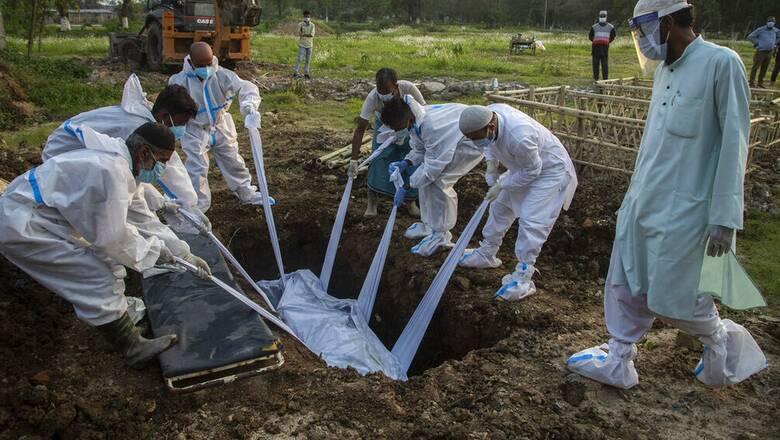 Κορωνοϊός: Εφιάλτης χωρίς τέλος στην Ινδία - Αρνητικό ρεκόρ θανάτων με 3.780 νεκρούς σε 24 ώρες