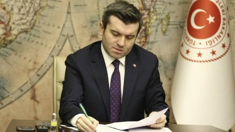 Σε Θεσσαλονίκη και Θράκη ο Τούρκος υφυπουργός Εξωτερικών
