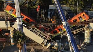 Μεξικό: Αναζητούνται οι υπεύθυνοι για το πολύνεκρο δυστύχημα με το μετρό