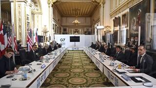 G7: Ανησυχία για την «ανεύθυνη και αποσταθεροποιητική» στάση της Ρωσίας