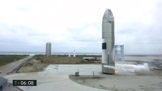 ΗΠΑ: Επιτυχής προσεδάφιση του Starship της SpaceX