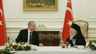 Συνάντηση του Οικουμενικού Πατριάρχη με Ερντογάν και Καλίν στην Αγκυρα