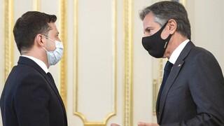 Επίσκεψη στήριξης Μπλίνκεν στο Κίεβο: Η ρωσική στρατιωτική απειλή παραμένει