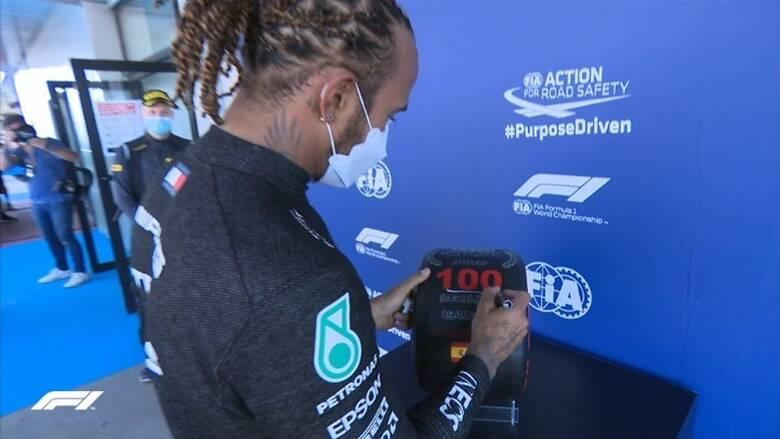 Formula 1: Για 100η φορά στην pole position ο Χάμιλτον