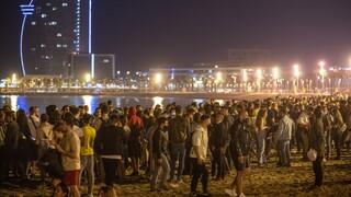 Ισπανία: Φιέστες ελευθερίας μετά την άρση της απαγόρευσης κυκλοφορίας