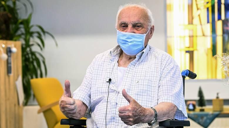 Βέλγιο: Πέθανε ο πρώτος πολίτης που εμβολιάστηκε κατά της Covid-19