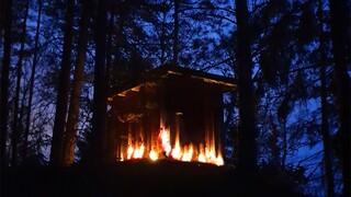 Ένα δάσος στη Σουηδία πιάνει φωτιά - ΄Η απλώς, έτσι φαίνεται...