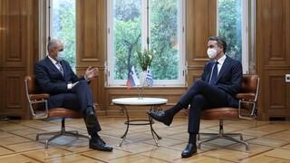 Μητσοτάκης - Γιάνσα: Το Κυπριακό και η Ανατ. Μεσόγειος είναι ευρωπαϊκό πρόβλημα