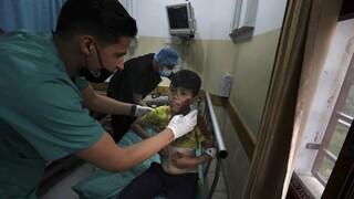 Ανάφλεξη στη Μ.Ανατολή: Είκοσι νεκροί, ανάμεσά τους παιδιά, σε ισραηλινές επιδρομές στη Γάζα