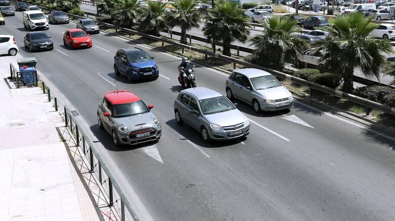 Μποτιλιάρισμα στους δρόμους της Αθήνας - Πού παρατηρούνται προβλήματα