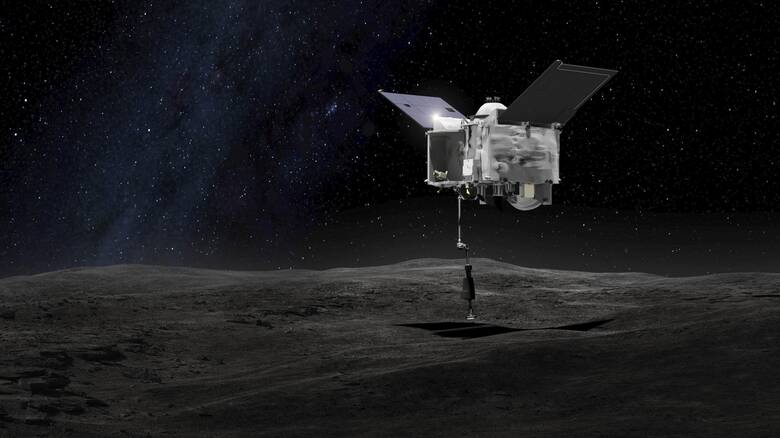 Το Osiris-Rex της NASA επιστρέφει με πολύτιμα δείγματα από τον αστεροειδή Μπενού