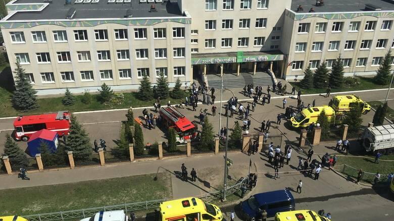 Συναγερμός στη Ρωσία: Τουλάχιστον έντεκα νεκροί μετά από πυροβολισμούς και έκρηξη σε σχολείο