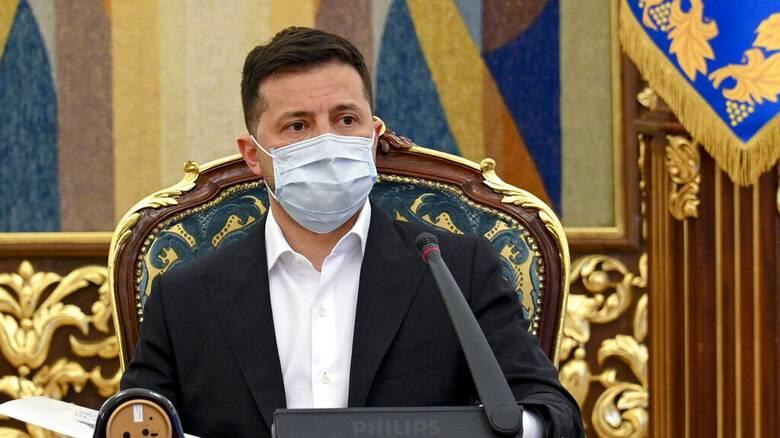 Ουκρανία - Ζελένσκι: Η Ρωσία παραμένει στα σύνορα, αναμένουμε ισχυρό μήνυμα του ΝΑΤΟ