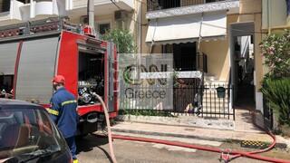 Τραγωδία στο Χαϊδάρι: Νεκρή ηλικιωμένη μετά από φωτιά σε διαμέρισμα