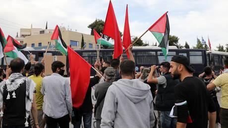Επεισόδια έξω από την ισραηλινή πρεσβεία: Συμπλοκές διαδηλωτών-αστυνομικών