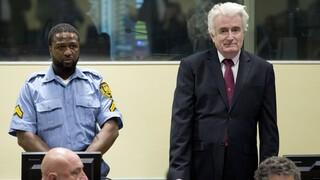 Ράντοβαν Κάρατζιτς: Σε βρετανική φυλακή για το υπόλοιπο της ποινής του