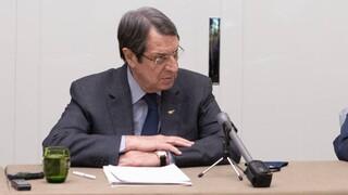 Κύπρος: Επιστολές Αναστασιάδη προς τους διεθνείς και ευρωπαϊκούς οργανισμούς