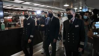 Πλακιωτάκης: Αυξάνεται η πληρότητα των πλοίων - Προτεραιότητα ο εμβολιασμός των νησιών