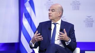 Οικονομικό Φόρουμ Δελφών – Δένδιας: Ο Τσαβούσογλου αποδέχτηκε την πρόσκληση να έρθει στην Ελλάδα