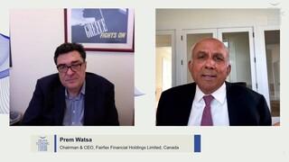Πρεμ Γουάτσα: Όσο η ελληνική οικονομία ανακάμπτει, τα κέρδη των εταιρειών θα ανακάμπτουν