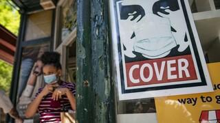 Κορωνοϊός - ΗΠΑ: Σύγχυση μετά την οδηγία για το τέλος της μάσκας στους εμβολιασμένους