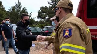 Χαρδαλιάς για κίνδυνο πυρκαγιών: Είναι έκδηλη η αγωνία μας για κάποιες περιοχές