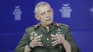 Αρχηγός ΓΕΕΘΑ: Οι προκλήσεις από την Τουρκία δεν είναι θεωρητικές