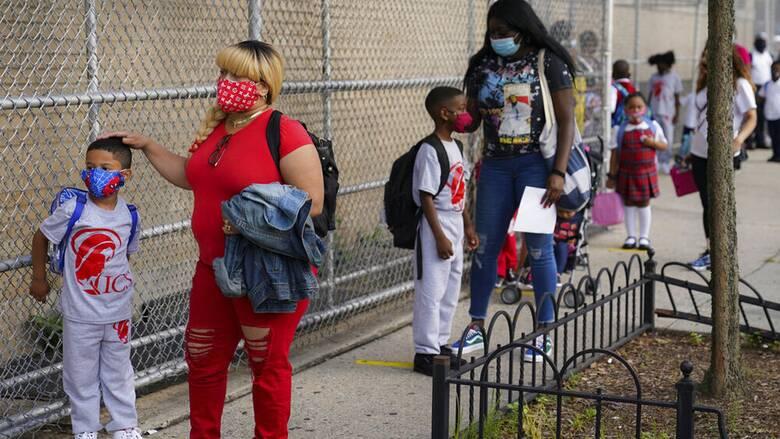 Κορωνοϊός στις ΗΠΑ - CDC: Με μάσκα και αποστάσεις οι μαθητές στο σχολείο φέτος