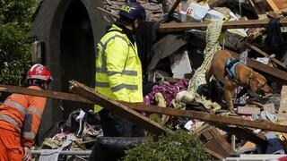 Αγγλία: Έκρηξη από διαρροή αερίου ισοπέδωσε δύο σπίτια - Ένα παιδί νεκρό, τέσσερις τραυματίες