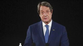 Κυπριακό - Αναστασιάδης: «Ανοιχτό» το ενδεχόμενο βέτο στην τελωνειακή σύνδεση ΕΕ - Τουρκίας