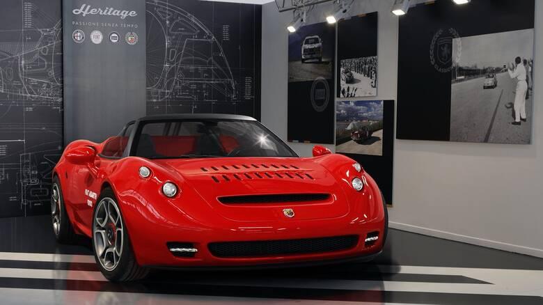 Το σύγχρονο Abarth 1000 SP είναι ένα και μοναδικό και βασίζεται στην Alfa Romeo 4C