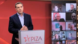 LIVE: Ο Αλέξης Τσίπρας παρουσιάζει τις προτάσεις του ΣΥΡΙΖΑ για το Ταμείο Ανάκαμψης