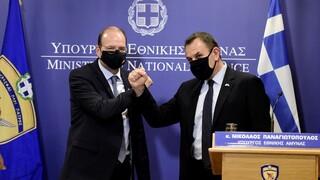 Τριμερής συνάντηση των υπουργών Άμυνας Ελλάδας-Κύπρου-Αιγύπτου στη Λευκωσία