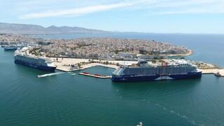Tο πρώτο κρουαζιερόπλοιο της σεζόν υποδέχθηκε ο Πειραιάς - Όλοι οι επιβάτες εμβολιασμένοι