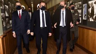 Τριμερής συνάντηση υπουργών Αμυνας Κύπρου - Ελλάδας - Αιγύπτου σήμερα στη Λευκωσία