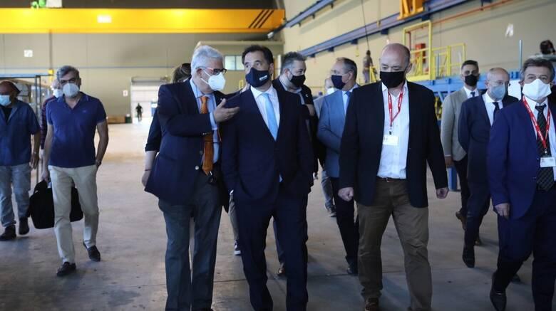 Γεωργιάδης: Σημαντικός ο ρόλος της ΕΛΒΟ στην αμυντική συμφωνία με το Ισραήλ