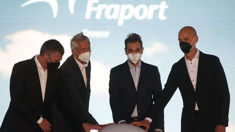 Μητσοτάκης: Επένδυση 440 εκατ. ευρώ και 10.000 θέσεων εργασίας τα 14 αεροδρόμια της Fraport Greece
