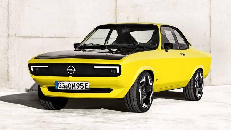 Η δεύτερη, ηλεκτρική νιότη του κλασικού Opel Manta