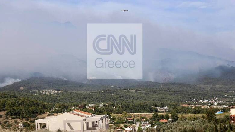 Φωτιά Σχίνος: Νέο μήνυμα από το 112 - Άμεση εκκένωση ενός ακόμα οικισμού