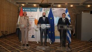 Κύπρος: Συνάντηση Παναγιωτόπουλου με Αναστασιάδη και τον Αιγύπτιο ομόλογό του