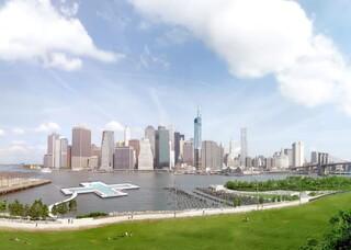 ΗΠΑ: Δημόσια πισίνα ολυμπιακών διαστάσεων κατασκευάζεται σε ποταμό της Νέας Υόρκης