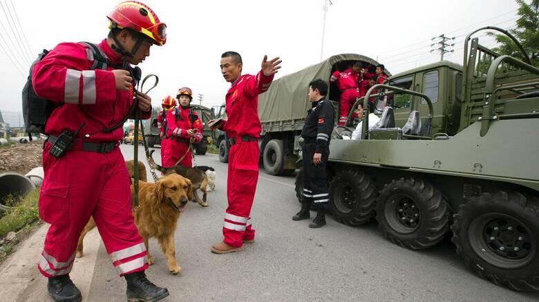 Ισχυρός σεισμός 7,3 Ρίχτερ στην Κίνα