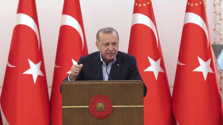 Ερντογάν για Κυπριακό: Οι νέες συνομιλίες θα γίνουν στη βάση δύο κρατών, όχι κοινοτήτων