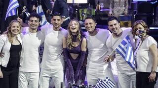 Eurovision 2021: Στη 10η θέση η Ελλάδα, 16η η Κύπρος - Νικήτρια η Ιταλία