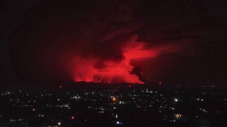 Κονγκό: Εξερράγη ένα από τα πιο ενεργά ηφαίστεια στον κόσμο - Συγκλονιστικές εικόνες