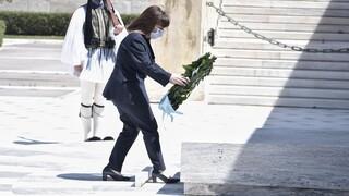Σακελλαροπούλου: Παραμένουμε προσηλωμένοι στην αναγνώριση της Γενοκτονίας του Ελληνισμού του Πόντου