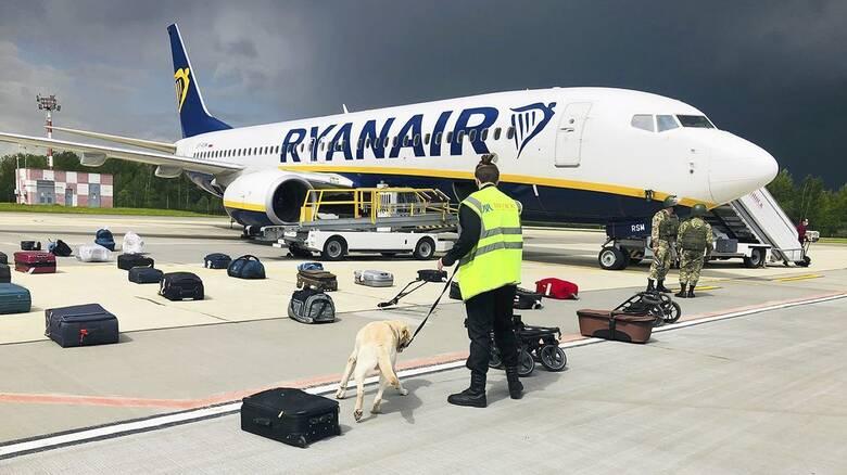 Πολωνική έρευνα για την εκτροπή του αεροσκάφους της Ryanair